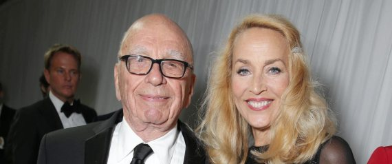 rupert murdoch jerry hall