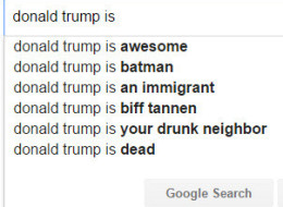 The Google Autocomplete Guide To Politicians