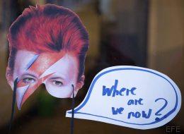 David Bowie, que estás en los cielos