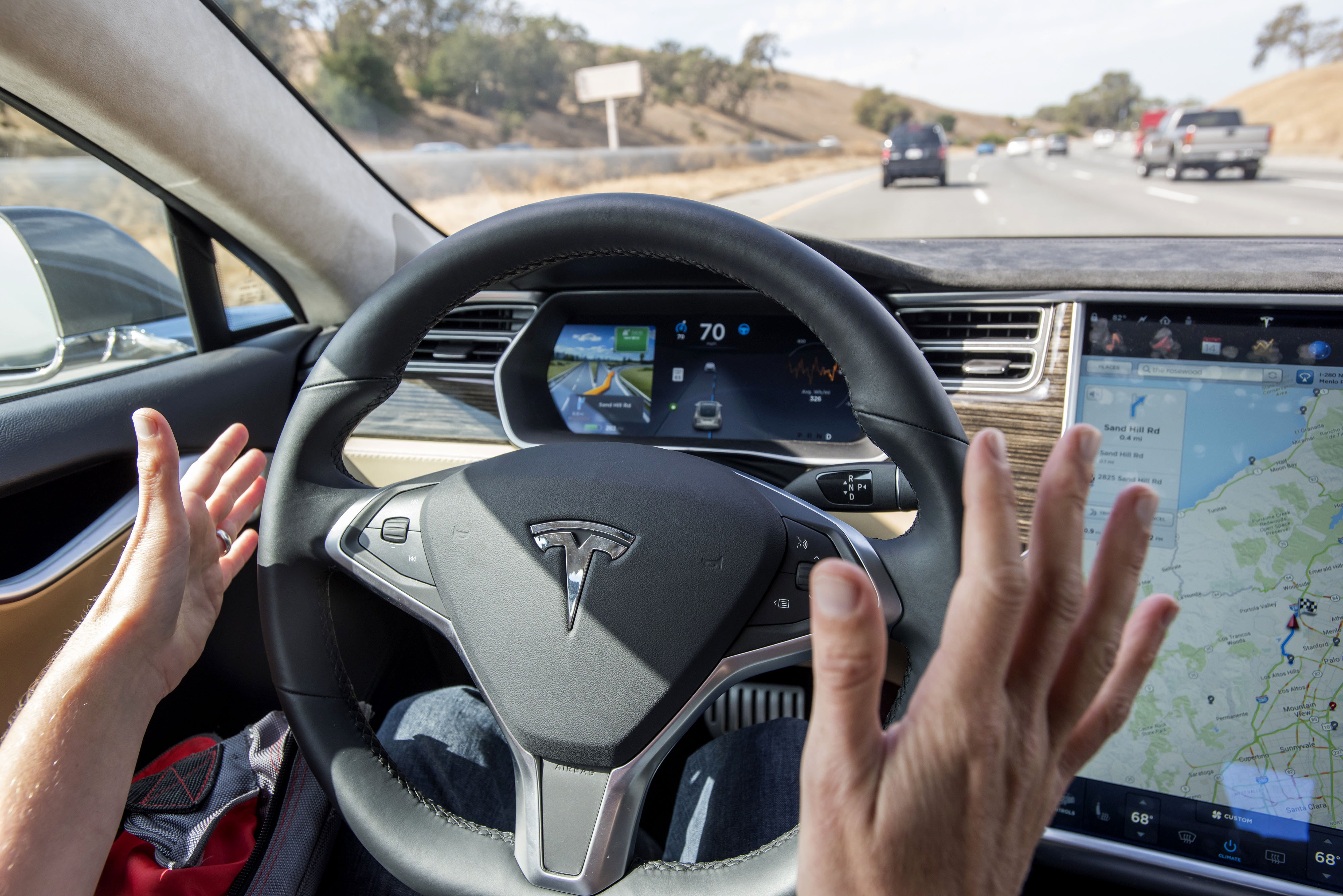 Self Driving Cars Artificial Intelligence Holds The Key
