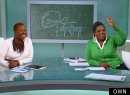 WATCH: Oprah Counsels Emotional Divorcee