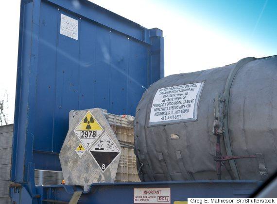 uranium shipping