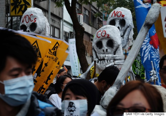 protest taiwan