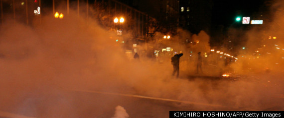 OCCUPY OAKLAND TEARGAS