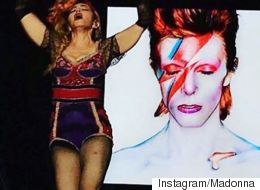 Madonna Pays Fitting Tribute To David Bowie