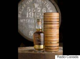 Une rarissime bouteille de whisky en vente pour 45 000 $