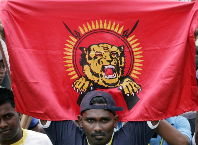 tamil tigers flag