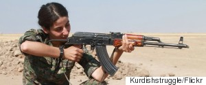KURDS FIGHTER