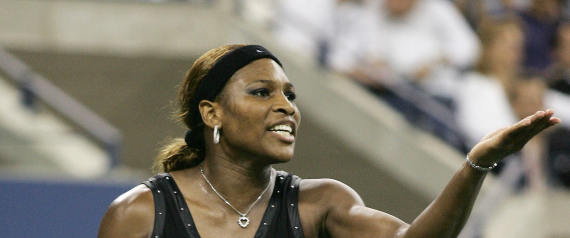 serena williams angry