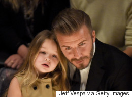 How David Beckham Will React When Harper Starts Dating Is Hilarious