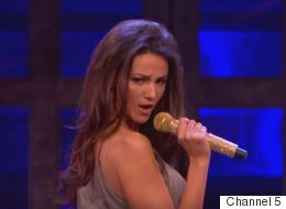 Michelle Puts On Spicy Show At 'Lip Sync Battle'