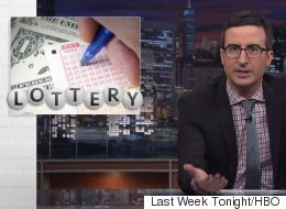 John Oliver Perfectly Explains Why Playing The Lottery Is Literally The Worst Thing You Can Do