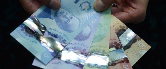 CANADA FIVE DOLLARS