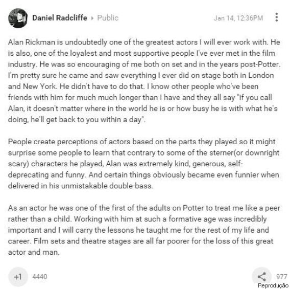 daniel radcliffe google plus