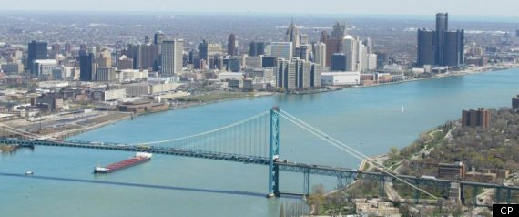 OCCUPY AMBASSADOR BRIDGE PROTEST