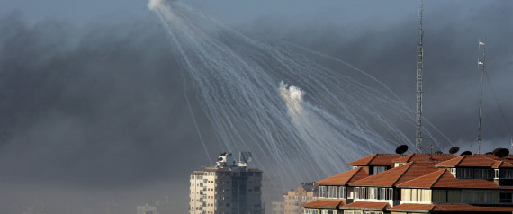 GAZA WAR PHOSPHORUS