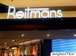 Reitmans (Canada) Limitée annonce 77 licenciements