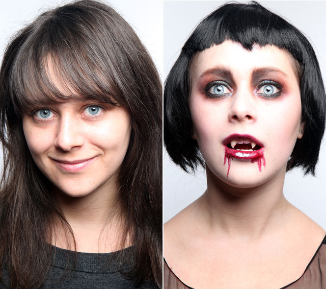 Vampire: Halloween Makeup How-To | HuffPost Life