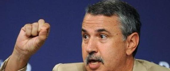 AMERICAN WRITER THOMAS FRIEDMAN