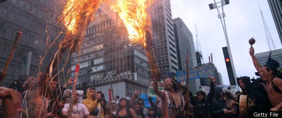 BELO MONTE PROTEST SAO PAULO