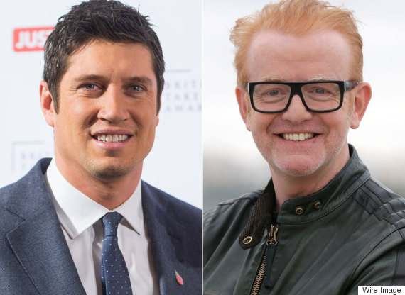 vernon kay chris evans