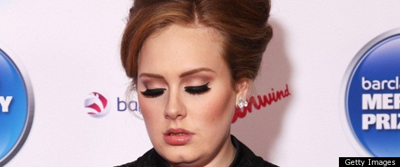 ADELE THROAT SURGERY CANCELS 2011 PLANS