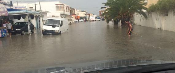 PLUIE TUNISIE