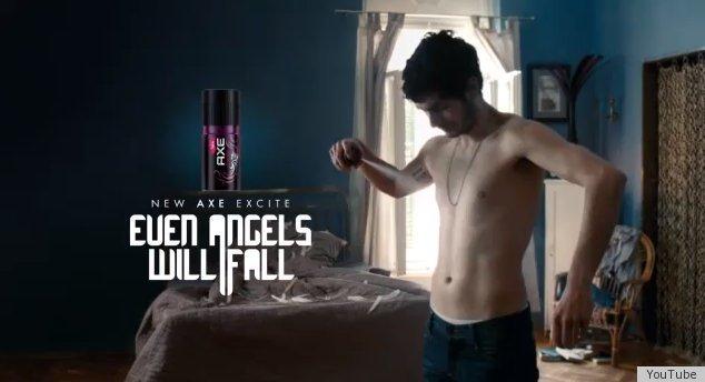 axe body spray ads