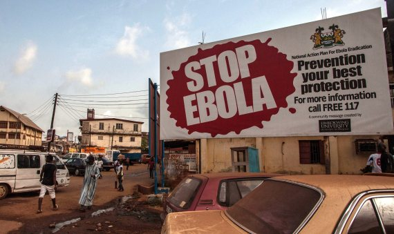 ebola sierra leone freetown