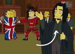 L'hommage prémonitoire des Simpson à David Bowie et Alan Rickman