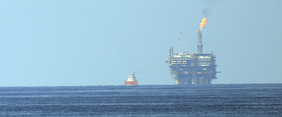 GAS FIELD IN THE MEDITERRANEAN SEA