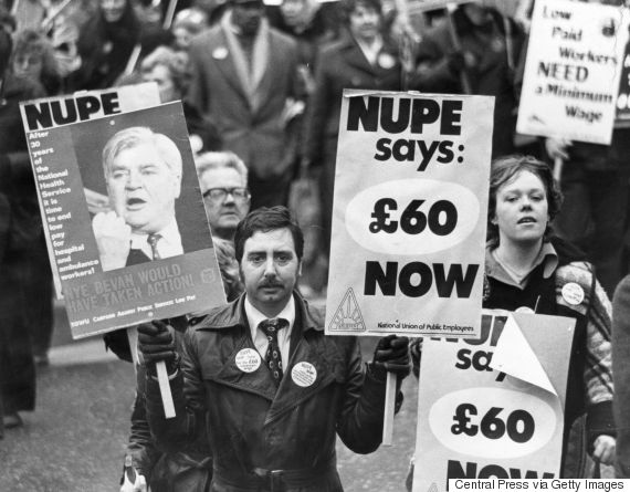 strikes uk 1970s