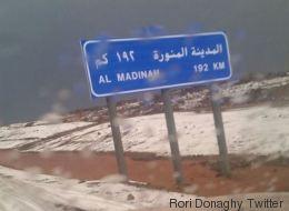 Il a neigé en Arabie saoudite, une première depuis 85 ans (PHOTOS/VIDÉOS)
