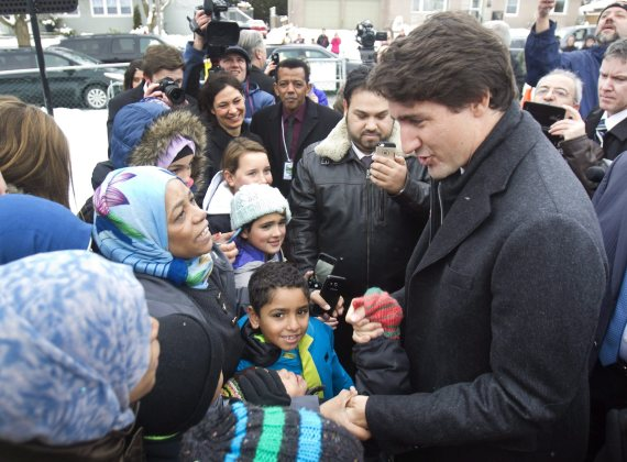 trudeau visits peterborough mosque