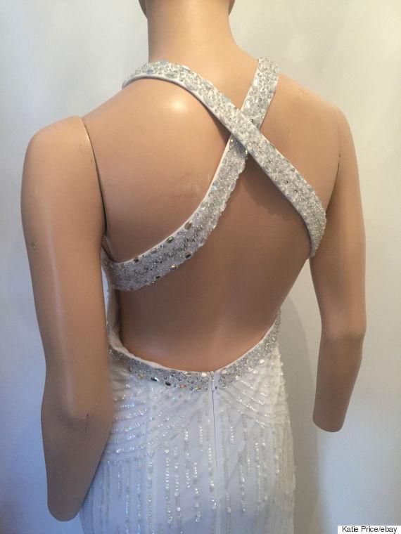 katie price wedding dress