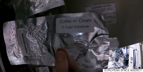 astronaut coffee