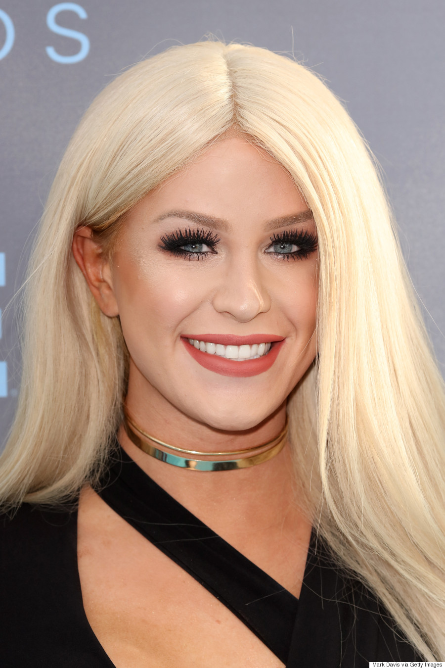Gigi Gorgeous Blond Locks Take Over 2016 Critics Choice