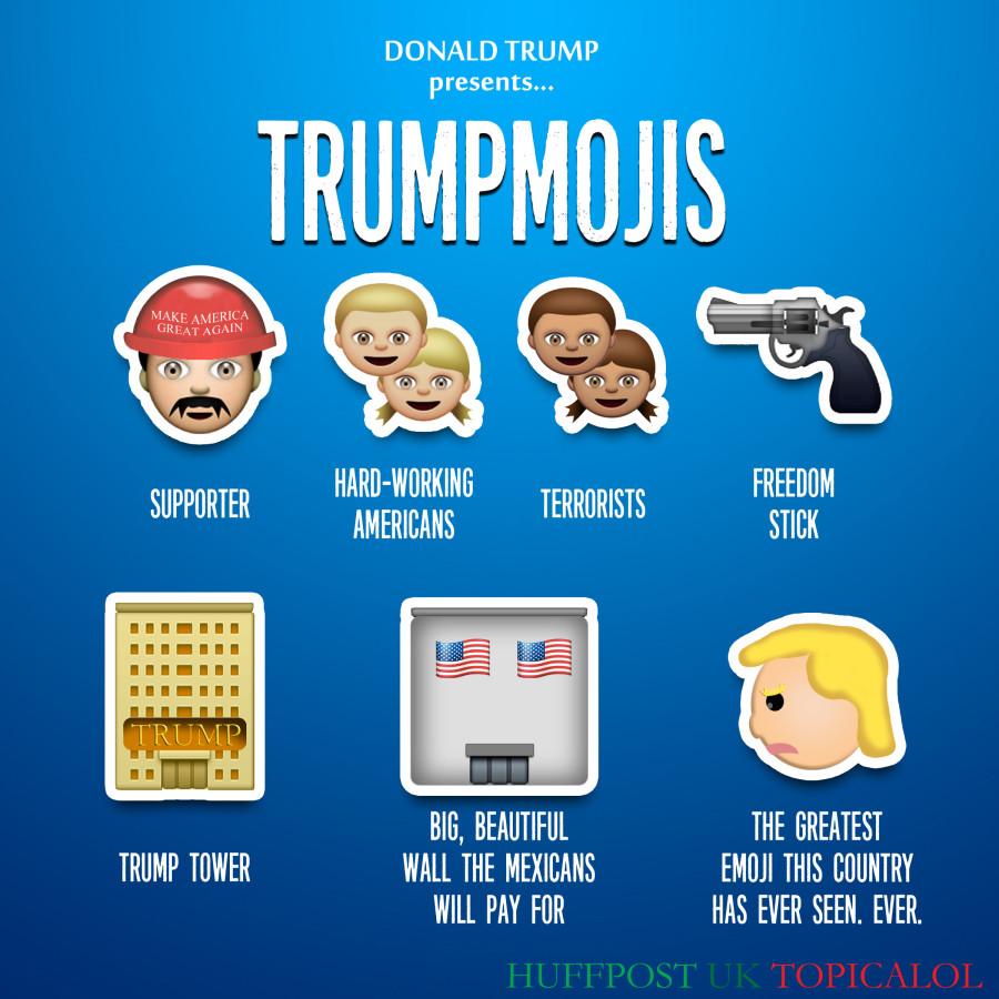 donald trump emoji emojis trumpmojis
