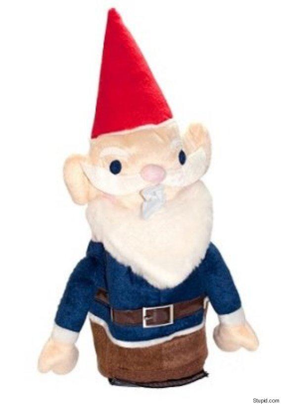 gnome tissue dispenser