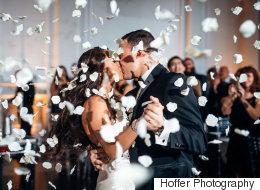 27 photos romantiques de premières danses des mariés