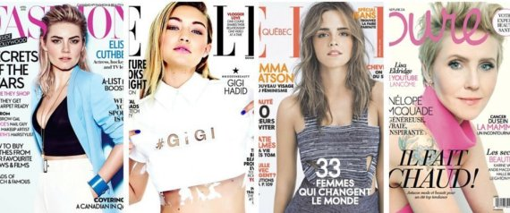 CANADIAN FASHION MAGAZINE COVERS