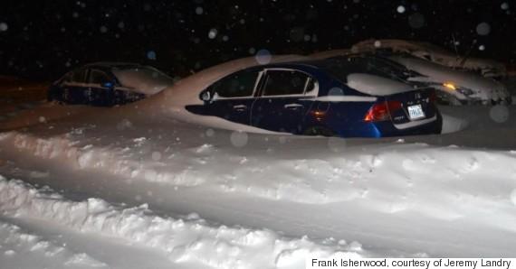 car snow antigonish