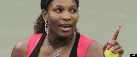 Serena Williams Fight