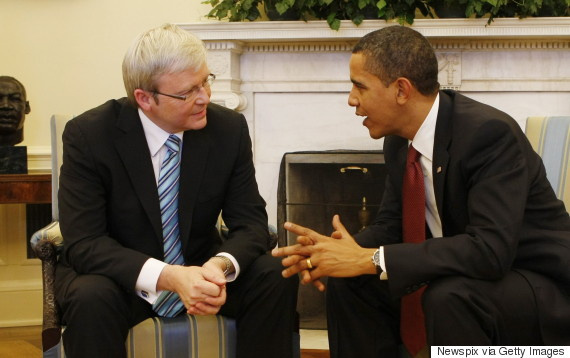 kevin rudd obama oval office