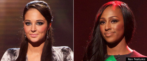TULISA VS ALEXANDRA BURKE ON THE X FACTOR
