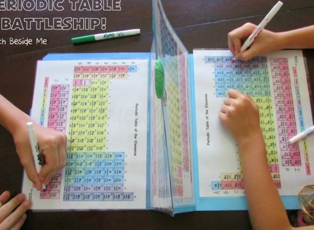 Elle a cr un jeu pour faire apprendre le tableau for N tableau periodique