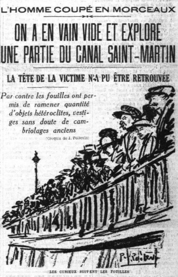 canal saint martin vide