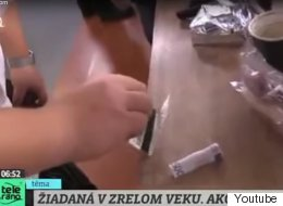 A Slovakian TV Chef Got Caught Doing Something Really Suspicious On Live TV