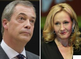 JK Rowling Nails Nigel Farage In Eloquent Violence Against Women Tweet