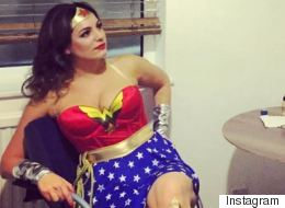 Kelly Brook Gives Gal Gadot A Run For Her Money